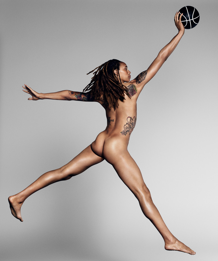Brittney Griner - Basketteuse - Phoenix Mercury - USA Photo : ESPN The Magazine