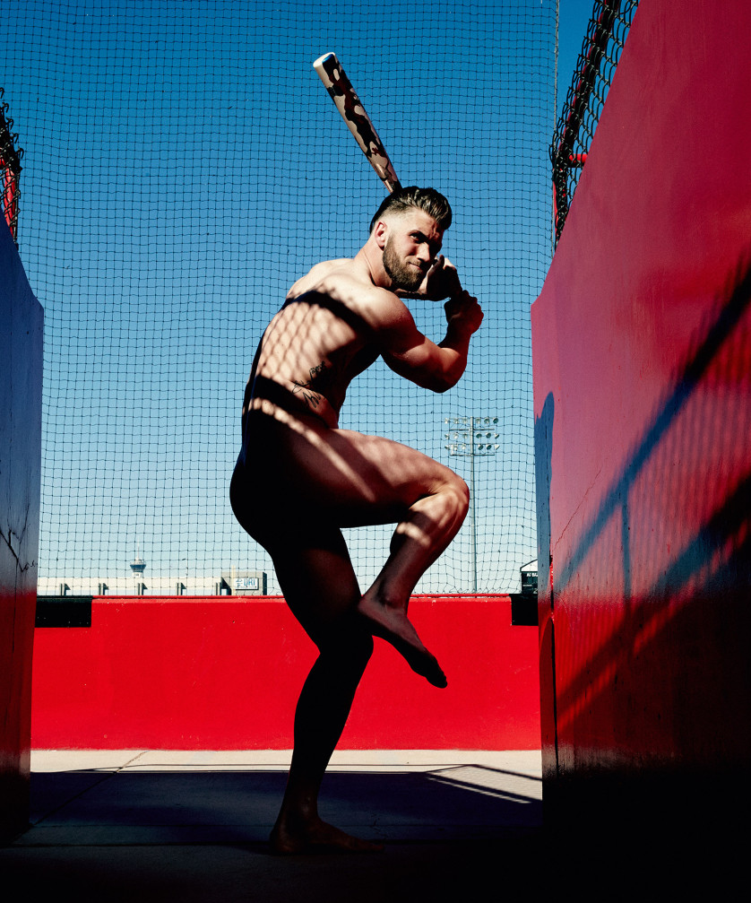 Bryce Harper - Joueur de Baseball - Washington Nationals - USA Photo : ESPN The Magazine