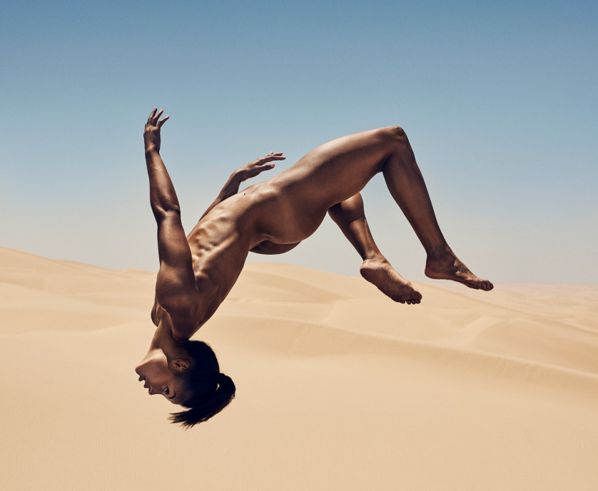 Chantae McMillan - Athlète Olympique - USA Photo : ESPN The Magazine