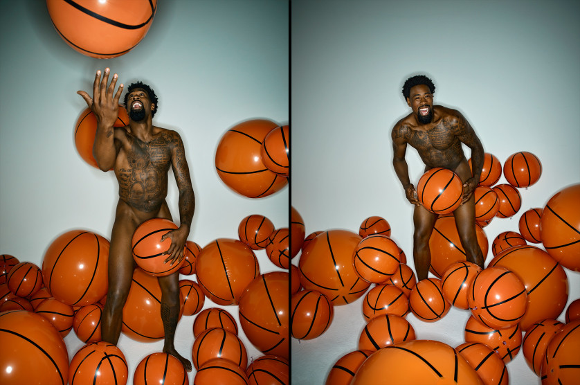 DeAndre Jordan - Joueur de Basketball - NBA - USA Photo : ESPN The Magazine