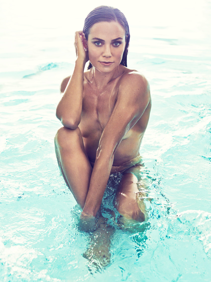 Natalie Coughlin - Nageuse Olympique - USA Photo : ESPN The Magazine