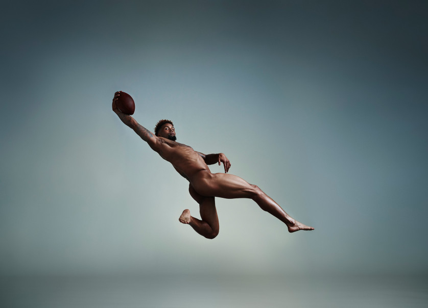 Odell Beckham Junior - joueur de Football américain - USA Photo : ESPN The Magazine