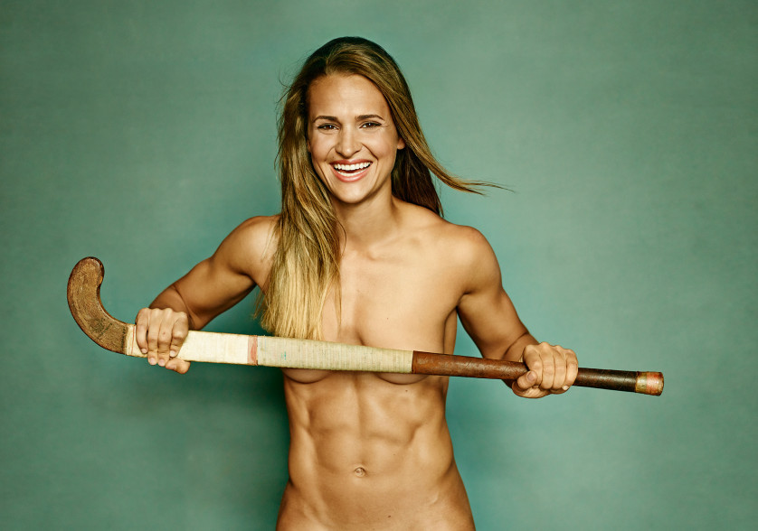Paige Selenski - Joueuse de Hockey  sur gazon - USA Photo : ESPN The Magazine