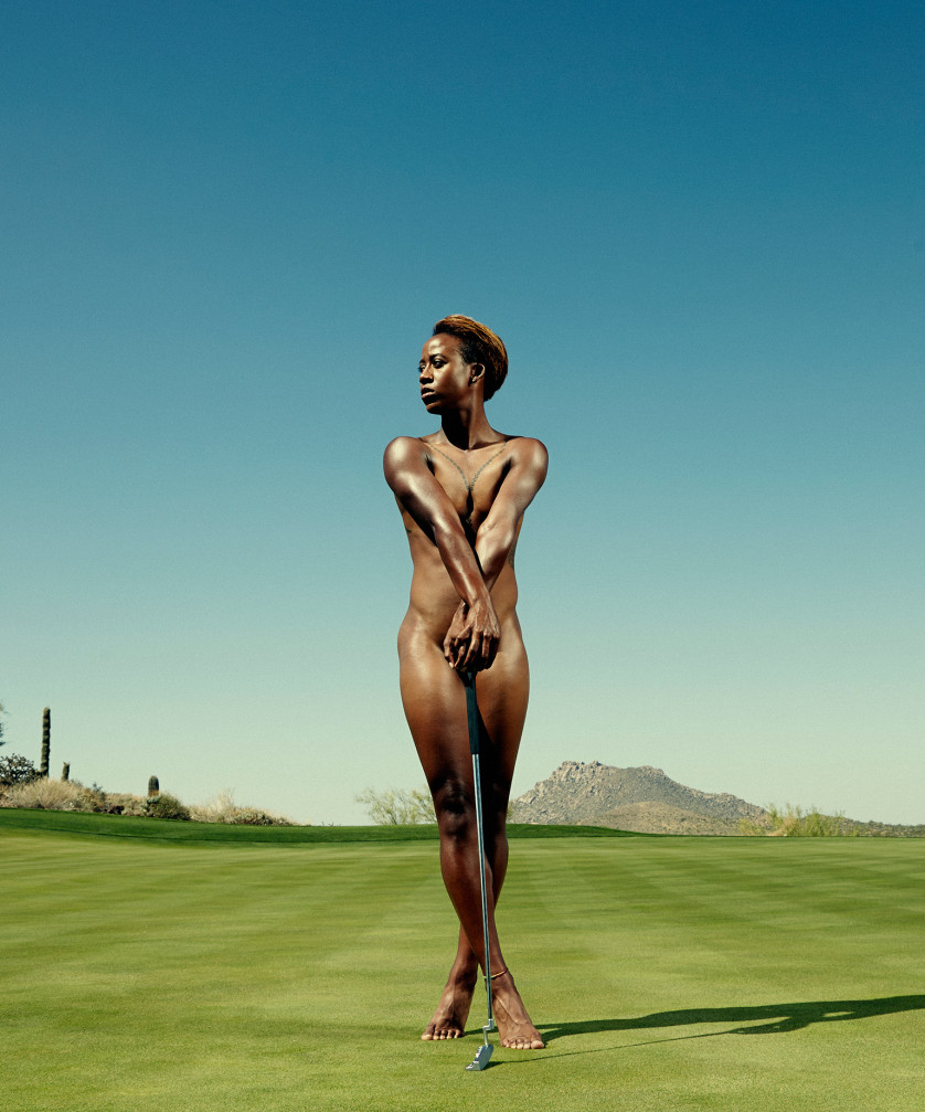 Sadena Parks - Golfeuse - USA Photo : ESPN The Magazine