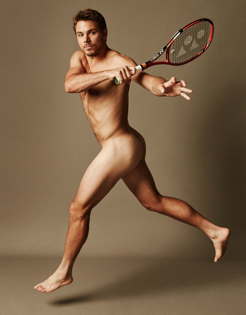 Stan Wawrinka - joueur de Tennis - Suisse Photo : ESPN The Magazine