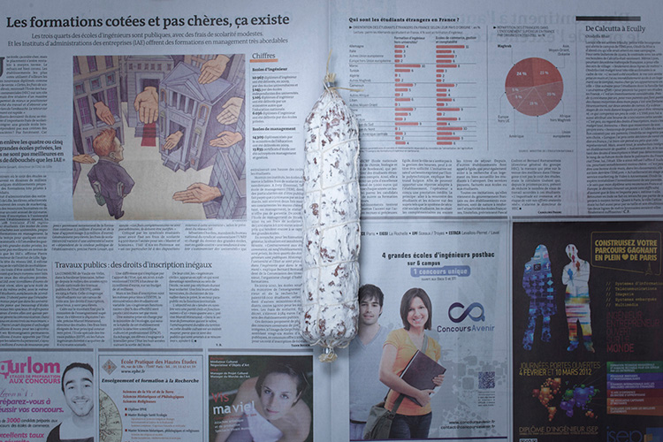 Saucisson (France - 7,68 dollars)  Photo : Stefen Chow