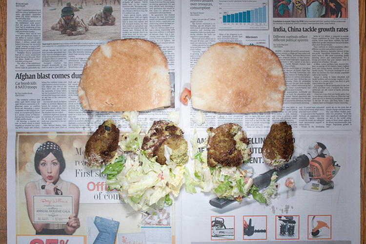 Sandwich au poulet (Etats-Unis - 4,91 dollars) Photo : Stefen Chow