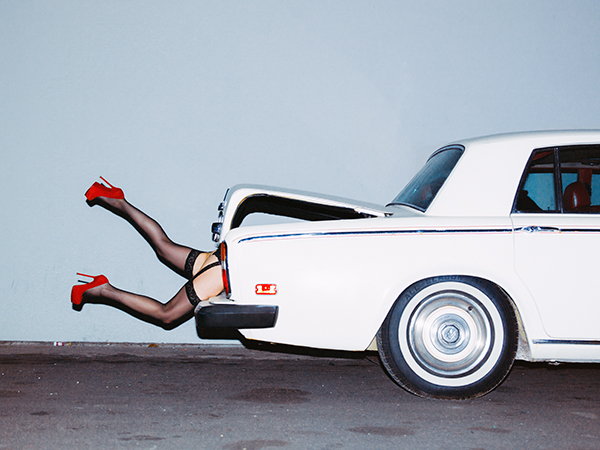 In The Boot Photo : Tyler Shields