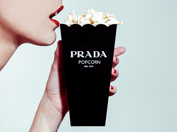 Prada Popcorn Photo : Tyler Shields