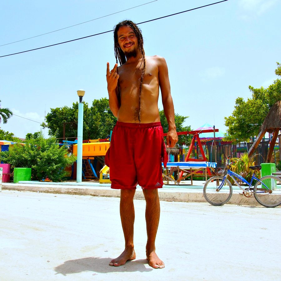 Photo : Bruno Heureux voyageur Isla Holbox, Mexique - Around the world in 80 styles