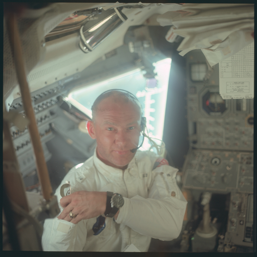 Buzz Aldrin pendant la Mission Apollo 11 (Juillet 1969) Photo : NASA