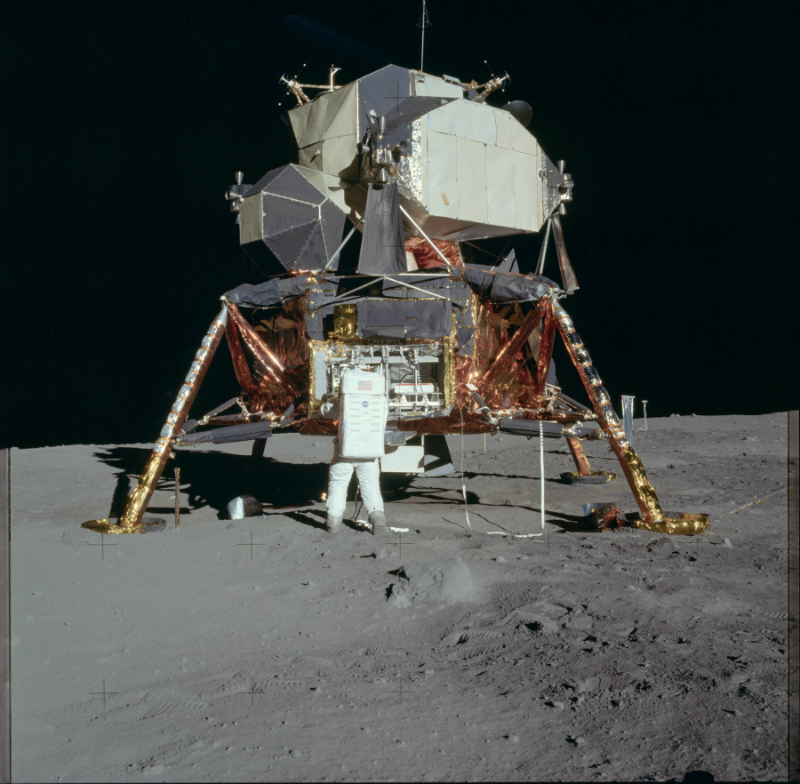 Mission Apollo 11 (Juillet 1969) Photo : NASA