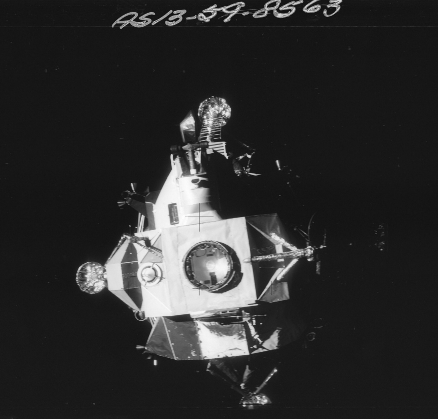 Mission Apollo 13 (Avril 1970) Photo : NASA