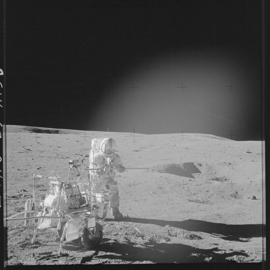 Mission Apollo 14 (Janvier-Fevrier 1971) Photo : NASA
