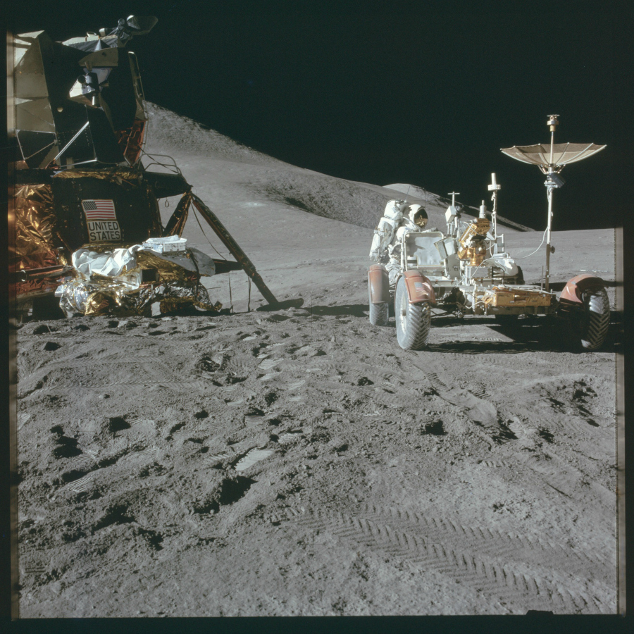 Mission Apollo 15 (Juillet-Aout 1971) Photo : NASA