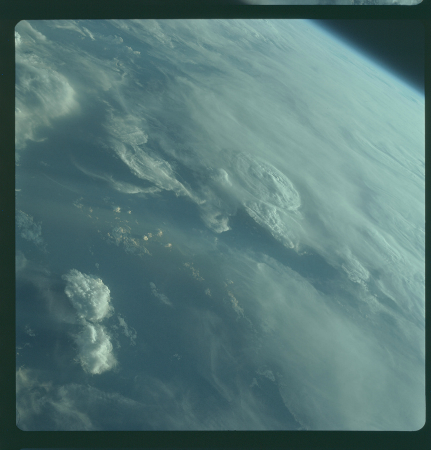 Mission Apollo 7 (Octobre 1968) Photo : NASA