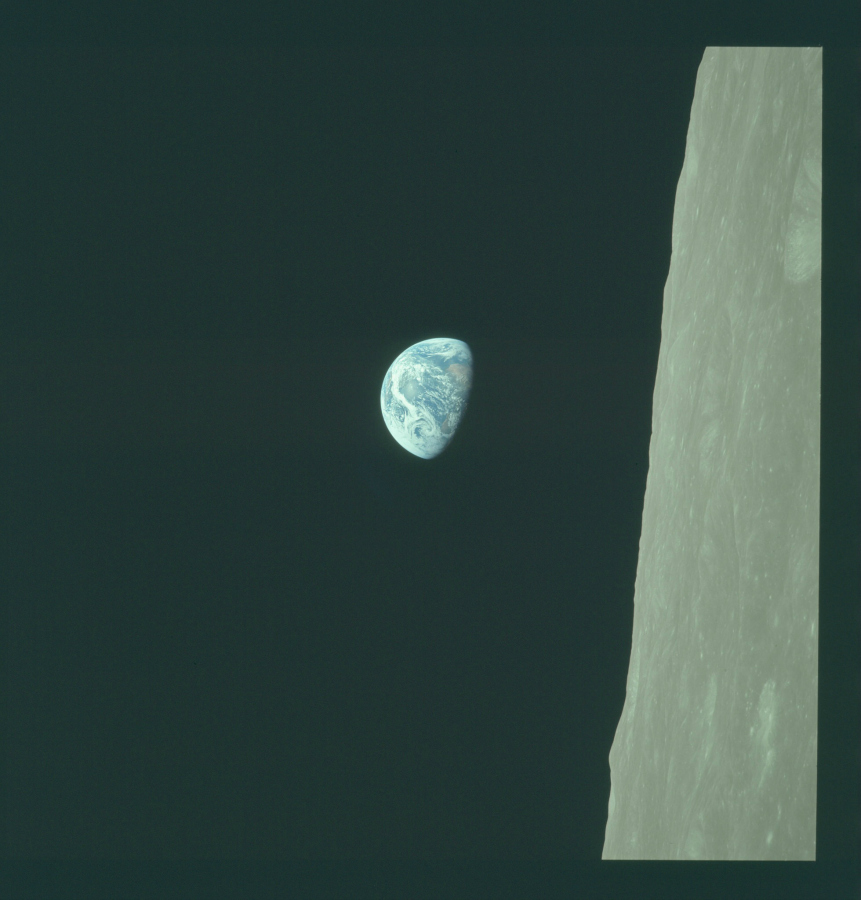 Mission Apollo 8 (Décembre 1968) Photo : NASA