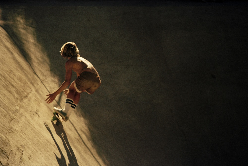 Canyon Sunset Ride, Hollywood Hills 1975 - Photo : Hugh Holland
