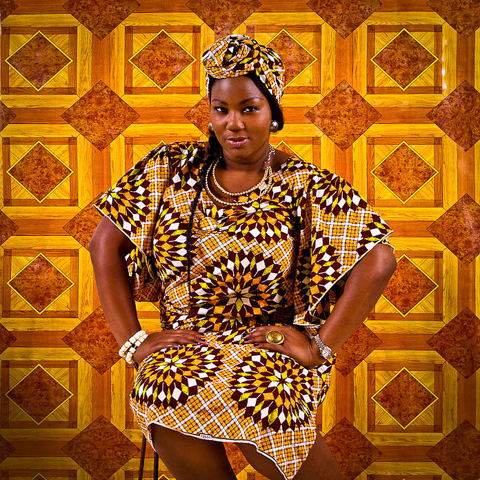 Olatoundji Maryam Rose, Pharmacienne et maquilleuse (Photo : Omar Victor Diop)