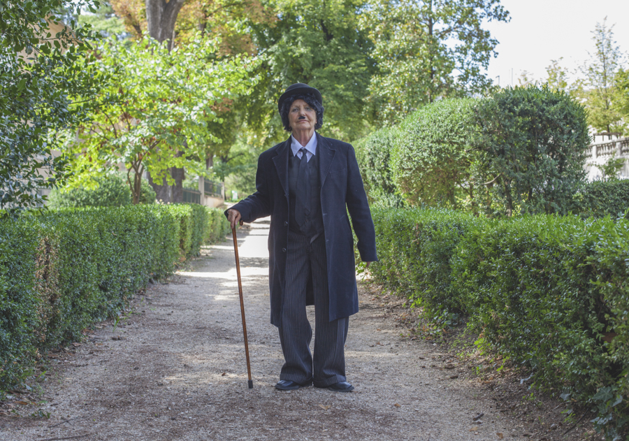 Madeleine est Charlie Chaplin (Photo : Romain Capelle)