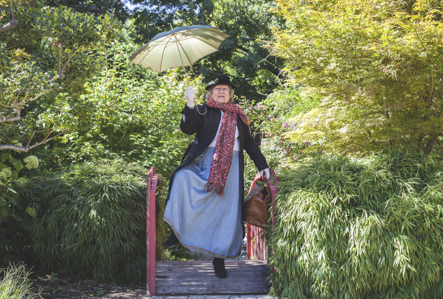Nicole est Mary Poppins (Photo Romain Capelle)
