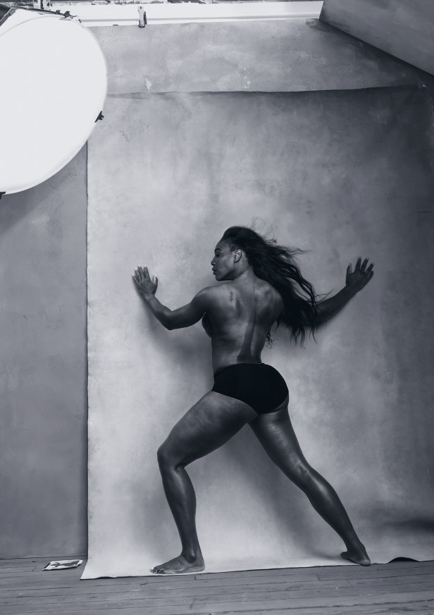 Serena Williams, Avril 2016 - Photo : Annie Lebovtiz