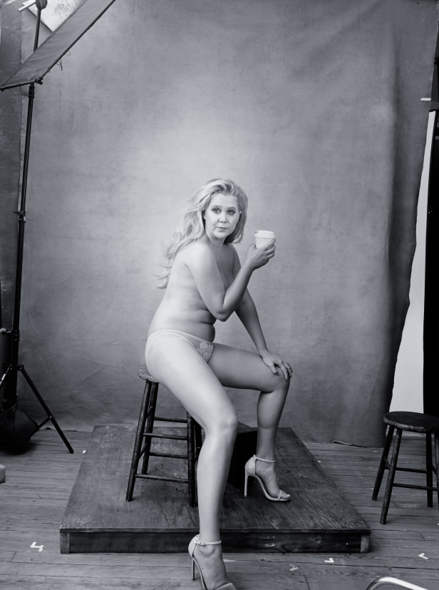 Amy Schumer, December 2016 - Photo : Annie Lebovitz