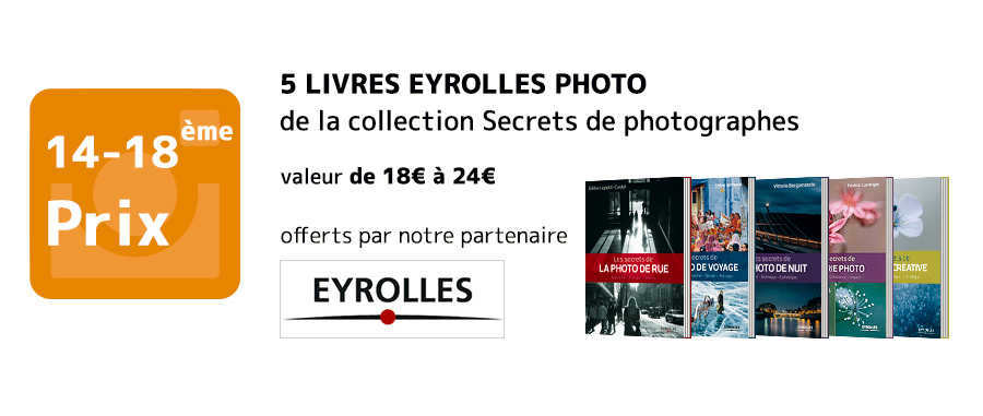 Lots Eyrolles Talents Graine de Photographe 2016