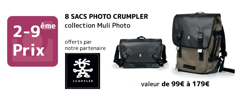 Lots Crumpler Talents Graine de Photographe 2016