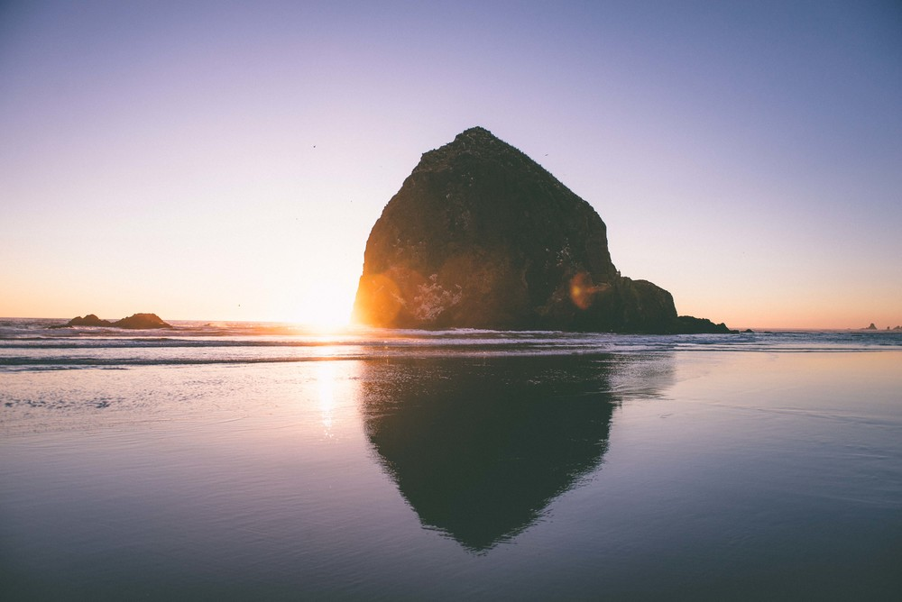 Cannon beach - Photo : Luke Gottlieb