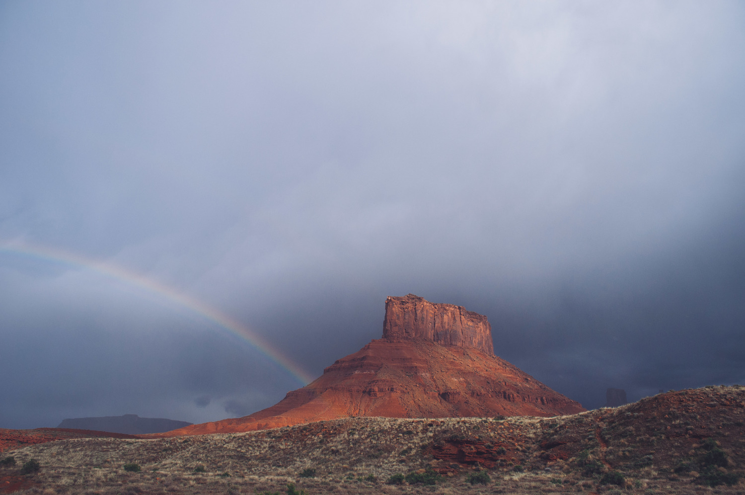 Rainbow Butte - Photo : Luke Gottlieb
