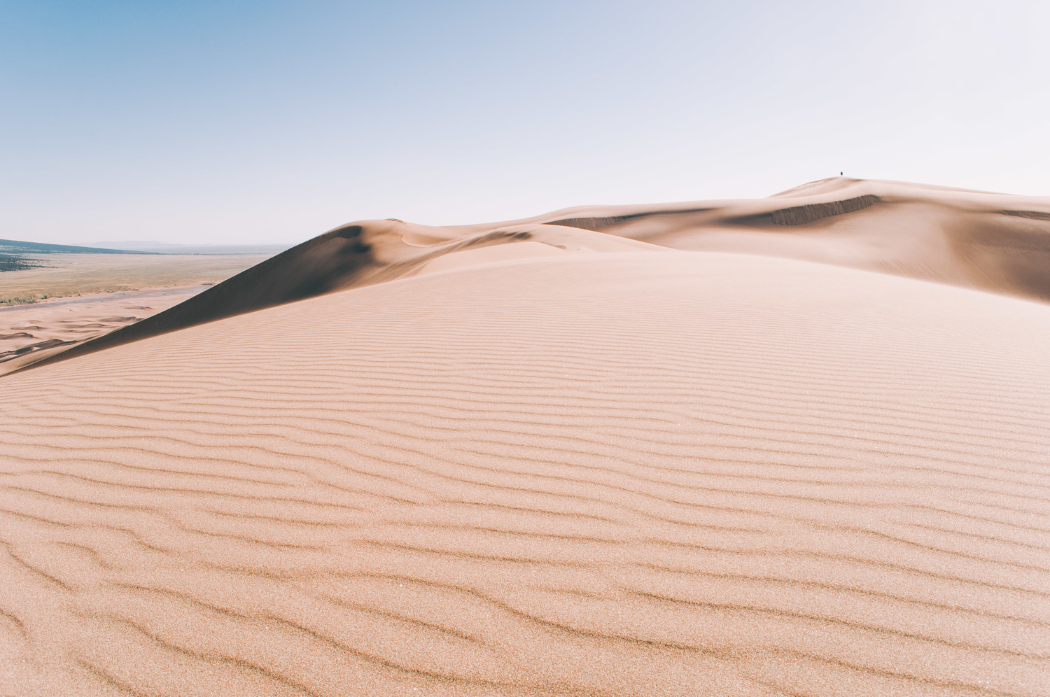 Sand Dunes Wide - Photo : Luke Gottlieb