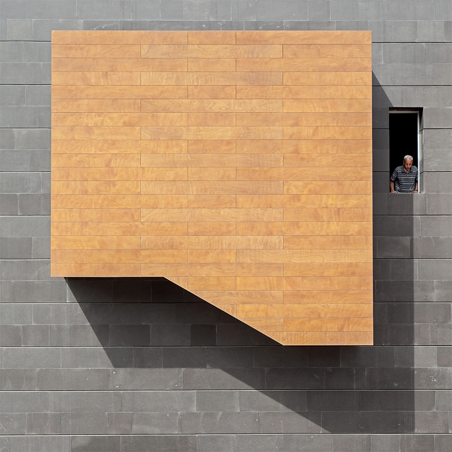 Shape in square - Ode to Malevitch - Serge Najjar