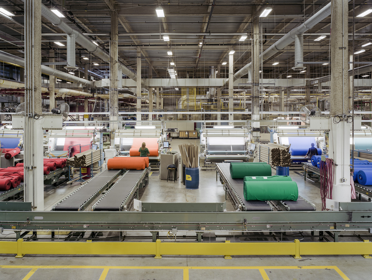 Made in USA: Textiles, Polartec, Location: Lawrence MA