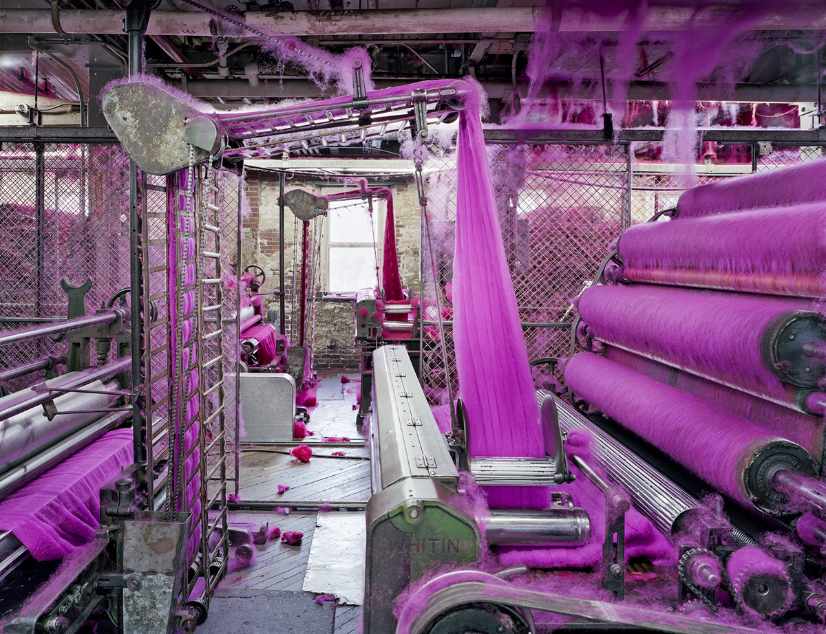 Made in USA: Textiles, S&D Spinning Mill, Location: Millbury, MA