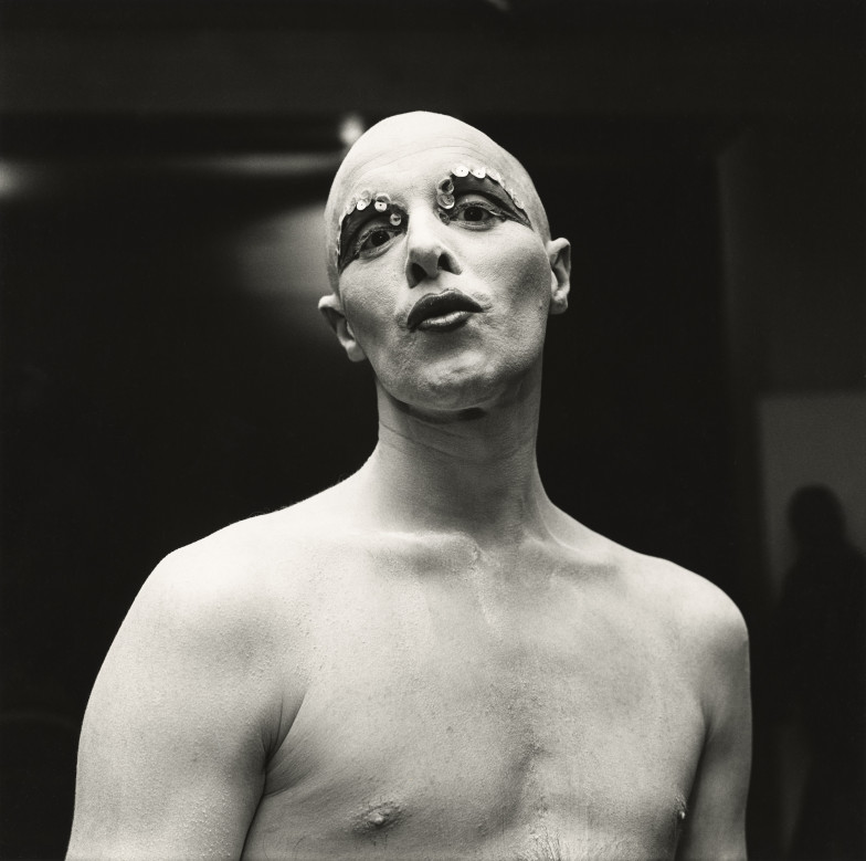 Peter Hujar - Larry Ree Backstage
