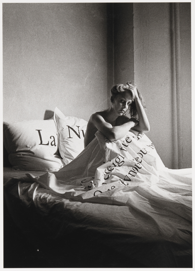 Peter Hujar - Greer Lankton in Bed