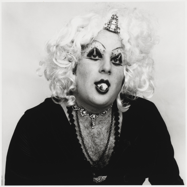 Peter Hujar - Cockette Popping Gum