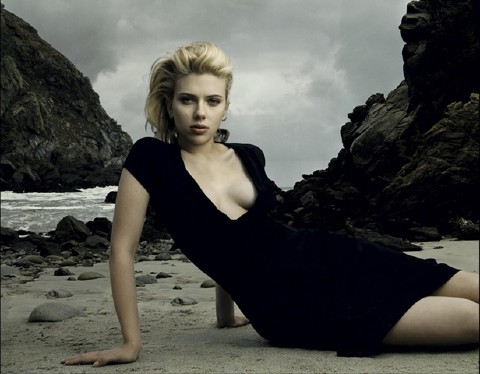 Photo : Annie Leibovitz Scarlett Johansson
