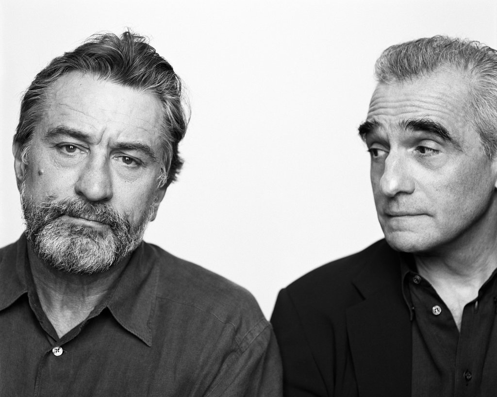 Photo : Brigitte Lacombe Robert De Niro Martin Scorsese