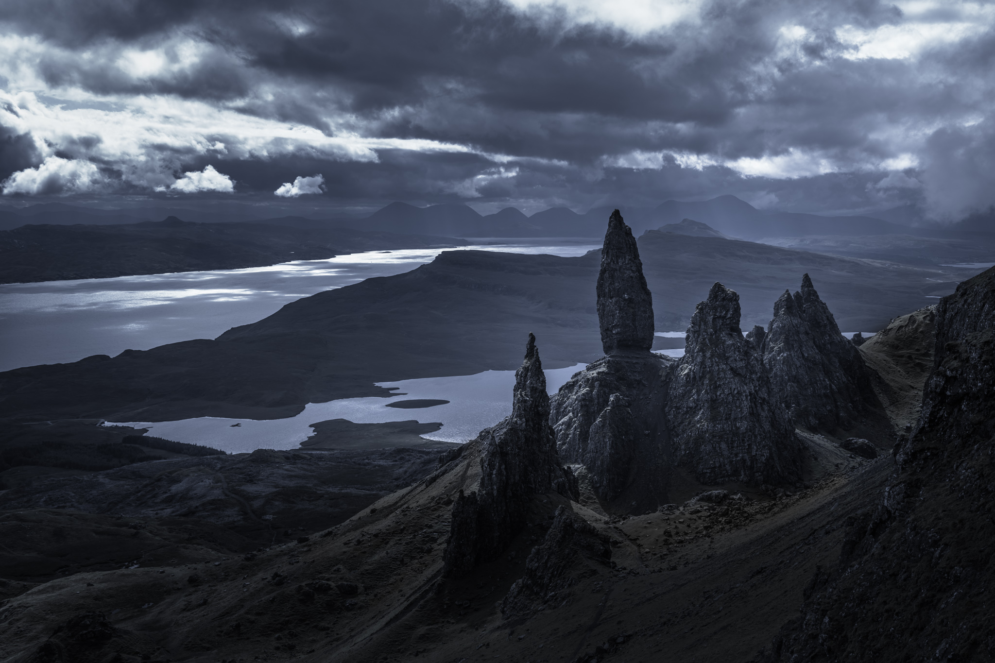 Grey Matters(s) Scotland, UK - The Old Man of Storr