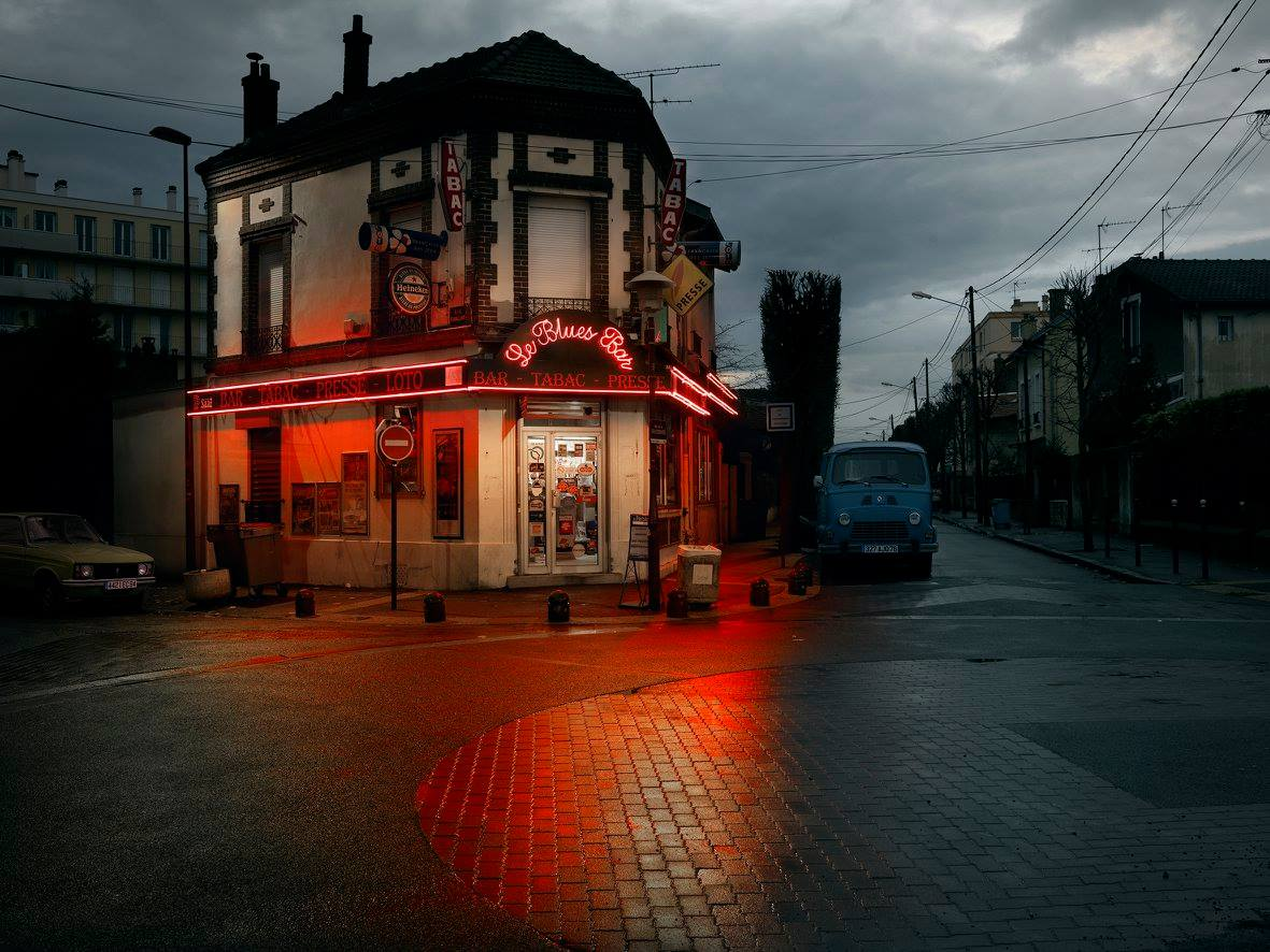 Le Blues Bar, Bondy. - Photo : Blaise Arnold