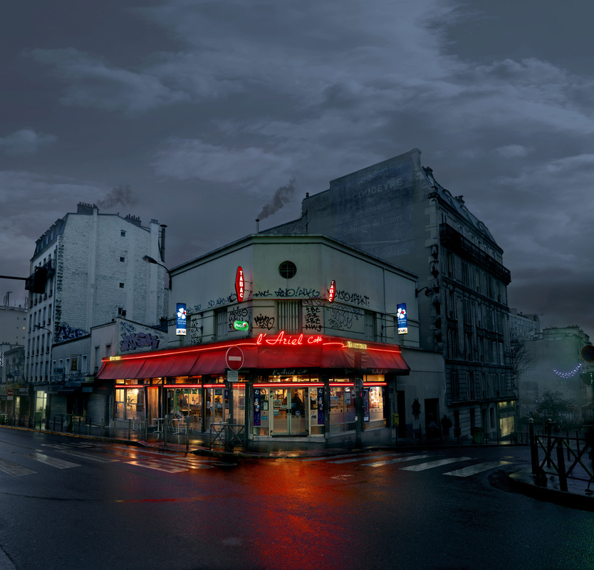 L'Ariel, Paris XX. - Photo : Blaise Arnold