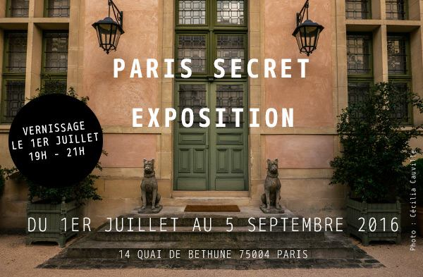 "EXPOSITION ""PARIS SECRET"" par la Grainedephoto Academy Vernissage"