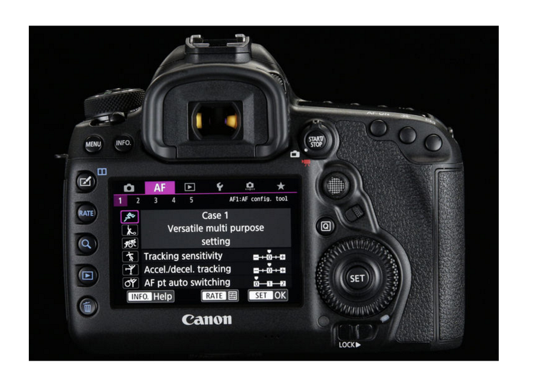 Canon 5D MARK IV menu