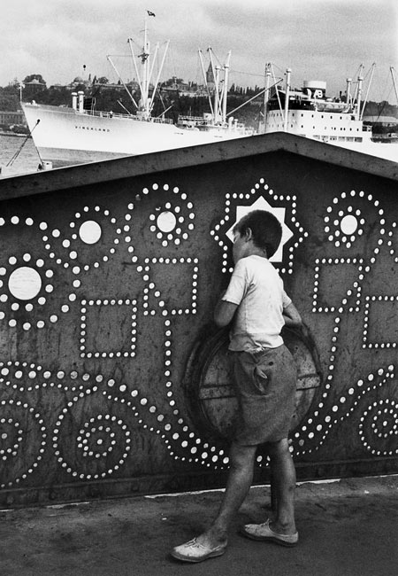 Photo : Marc Riboud, Istanbul, 1955