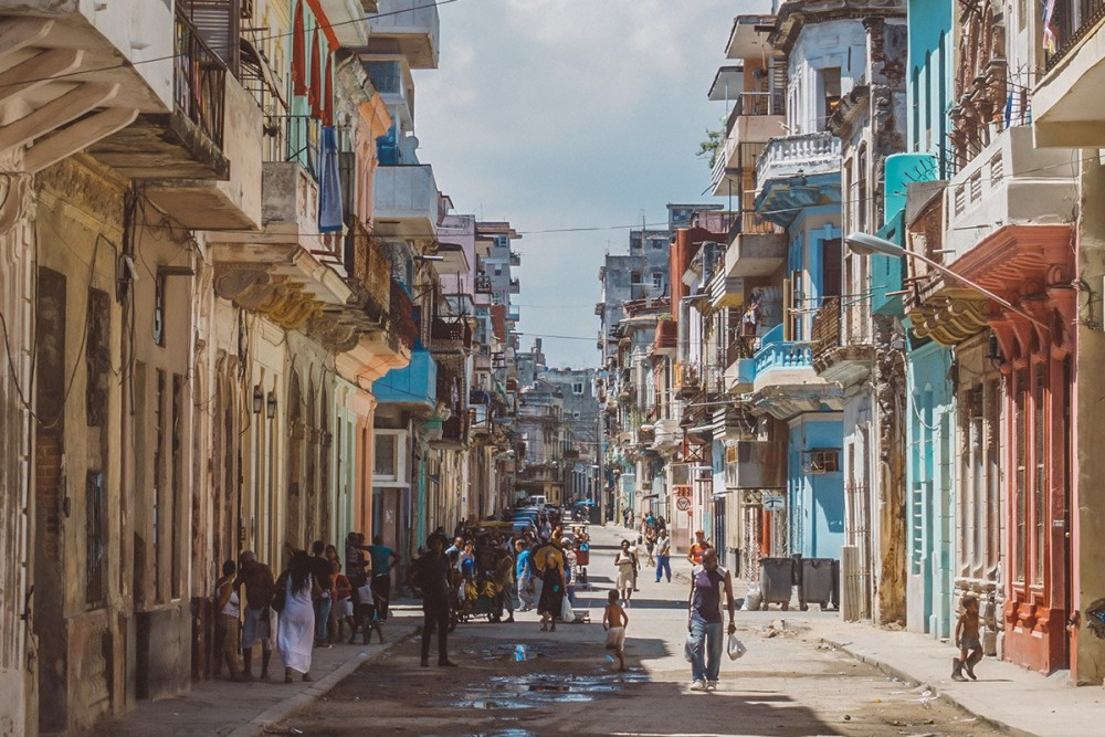 Life bustles on the streets of Centro Havana, Bobi Dojcinovski