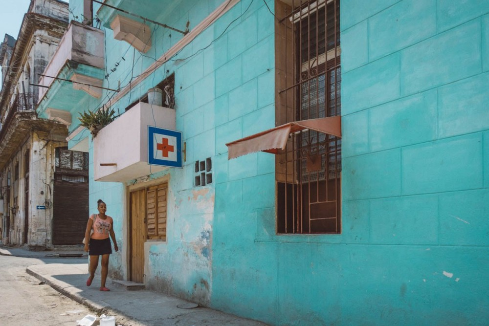 Local Hospital in Centro Havana, Bobi Dojcinovski