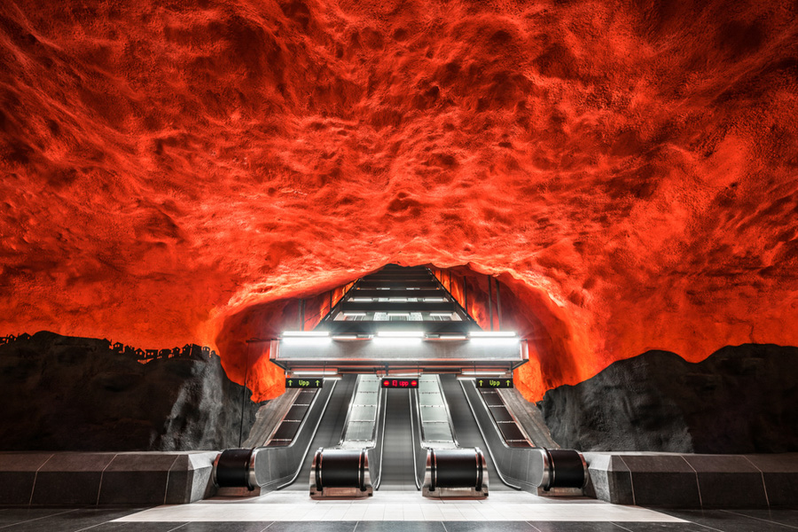 Photo : Christopher Forsyth / Solna centrum, Stockholm