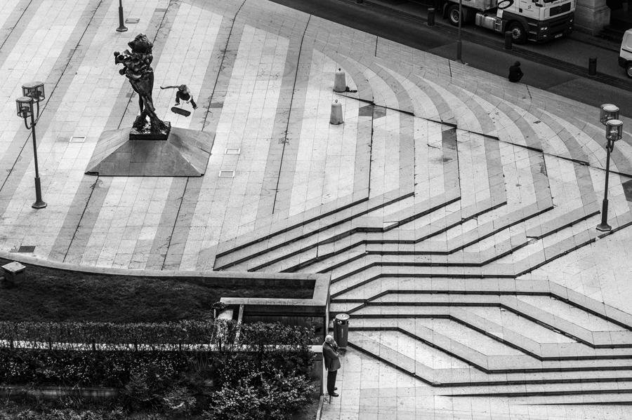 Photo : Stephane Giret, Kickflip, Lyon, Fred Mortagne